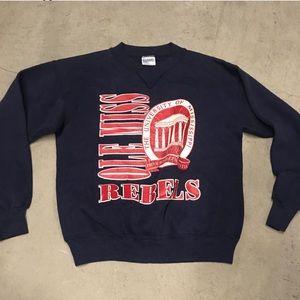 Vintage 90s ole miss sweatshirt